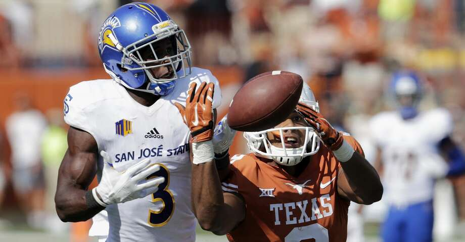 The Texans selected San Jose State cornerback Jermaine Kelly in the seventh round with their final draft selection. Photo: Tim Warner/Getty Images