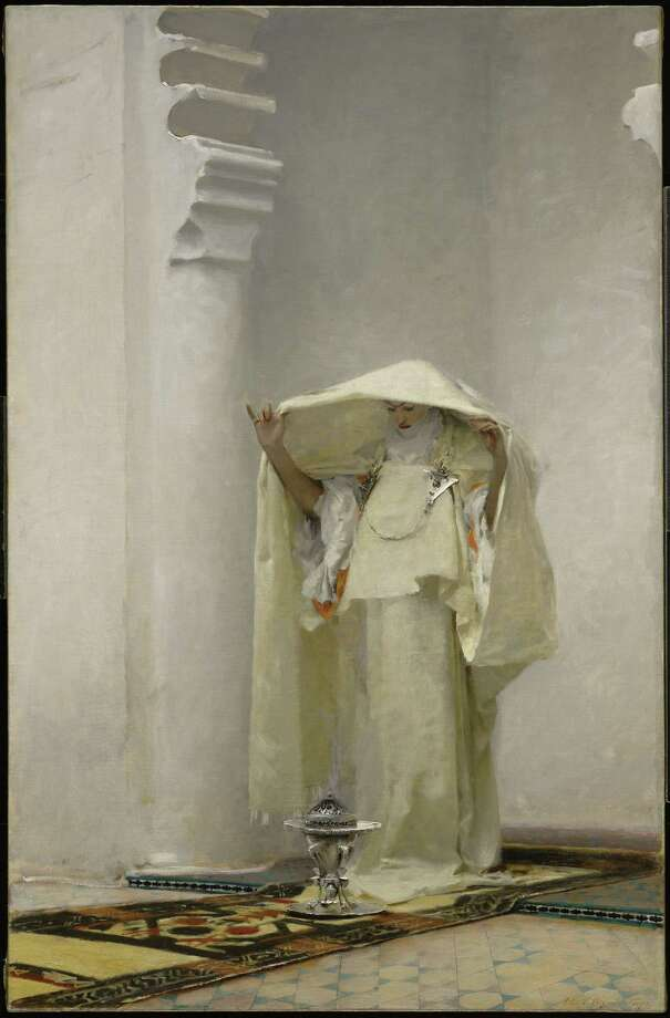 John Singer Sargent, Fumée d'ambre gris (Smoke of Ambergris), 1880. Clark Art Institute, 1955.15