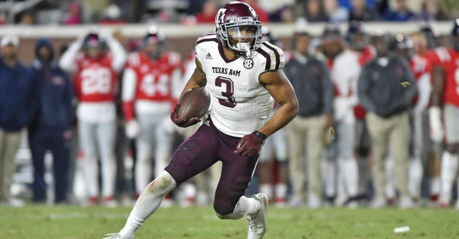 Receiver Christian Kirk went to his hometown Arizona Cardinals in the second round on Friday.  Photo: Icon Sportswire/Icon Sportswire Via Getty Images