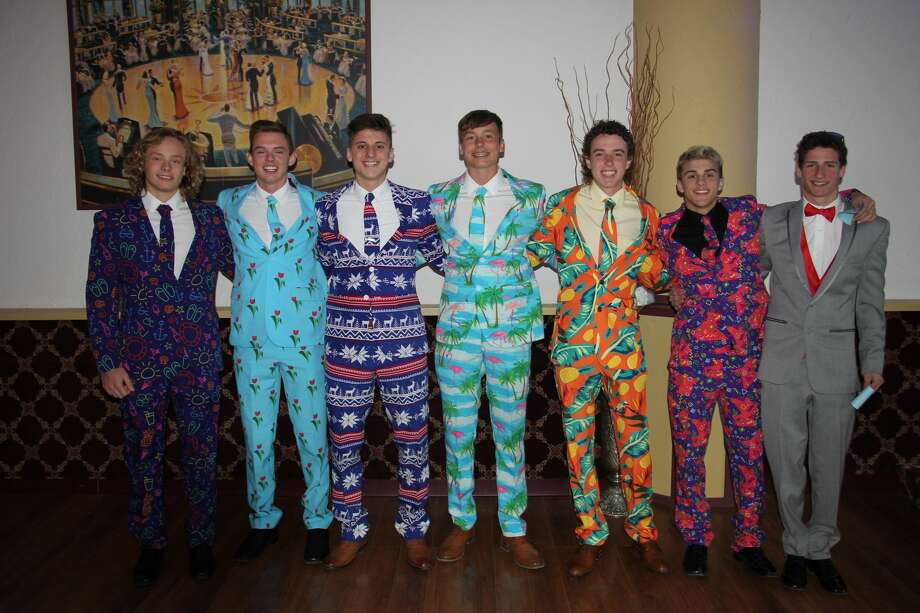 "The saying, ""Dressed to impress"" was an understatement when describing the apparel featured at Bad Axe's Prom. Students gathered together Saturday night at the Pasta House in Kinde for a night of memories. Photo: Bradley Massman/Huron Daily Tribune"