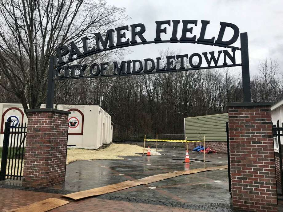 Palmer Field in Middletown is undergoing renovations at the stadium, baseball and football fields. Photo: Cassandra Day / Hearst Connecticut Media
