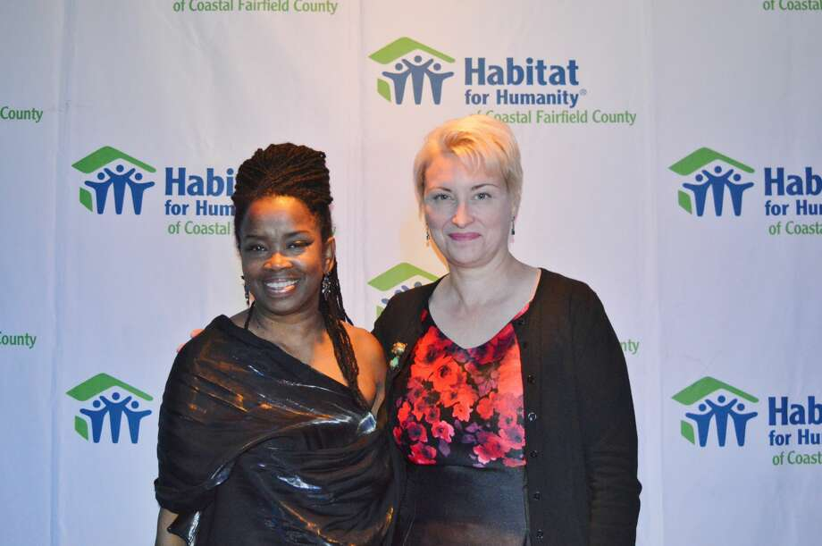Habitat for Humanity of Coastal Fairfield County held its annual benefit gala, April in Paris, at the Warehouse at Fairfield Theatre Company on April 28, 2018. Guests enjoyed cocktails, dinner, dancing, a silent auction and live music from the Avalon Jazz Band. Proceeds from the event help build homes for  Fairfield County families. Were you SEEN? Photo: Todd Tracy / Hearst CT Media