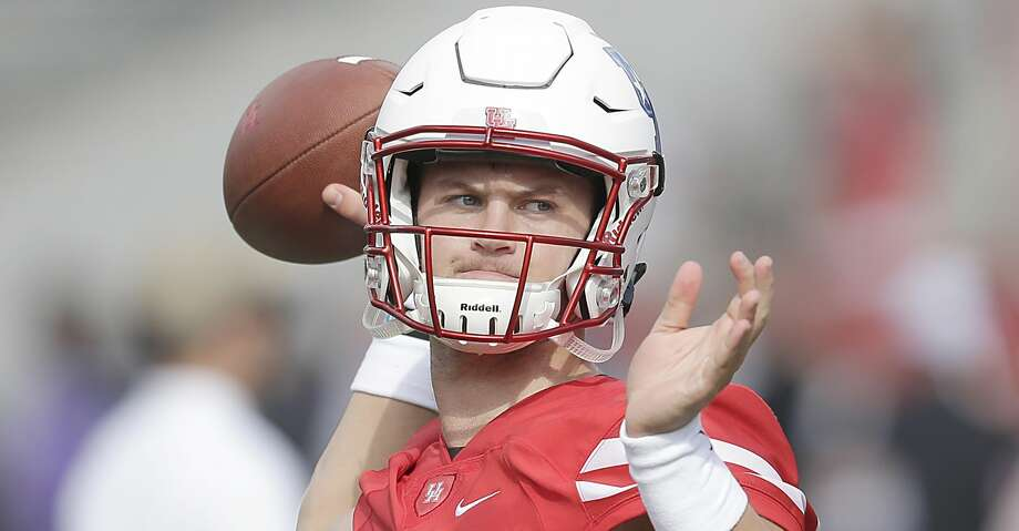 Former University of Houston quarterback Kyle Allen has signed as an undrafted free agent with the Carolina Panthers. Photo: Thomas B. Shea/Getty Images