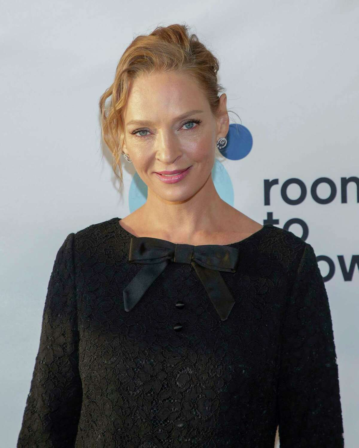 Actress Uma Thurman attends the 20th annual Room to Grow Spring benefit at The Lighthouse at Chelsea Piers on Wednesday, April 11, 2018, in New York. (Photo by Brent N. Clarke/Invision/AP)