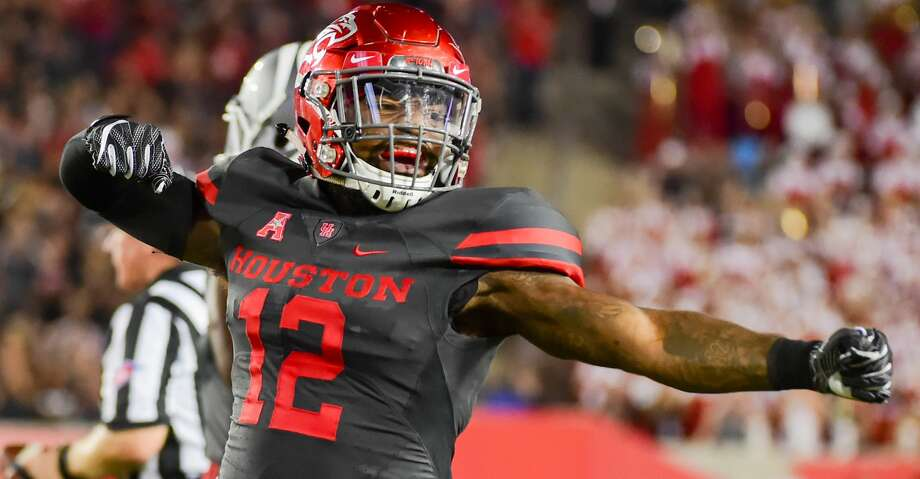 University of Houston linebacker D'Juan Hines has signed with the Los Angeles Chargers as an undrafted free agent. Photo: Icon Sportswire/Icon Sportswire Via Getty Images