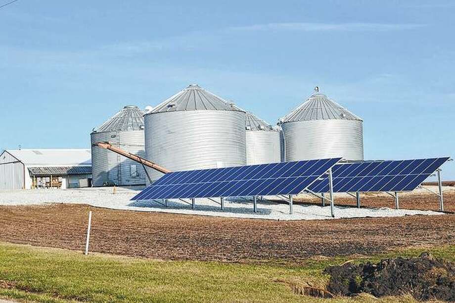 Turner Farms outside of Modesto installed a 25-kilowatt solar system. With incentives, rebates and provision of electricity, the Turners expect the panels to be a break-even investment in as few as four years. Photo:       Kathleen Clark | Journal-Courier