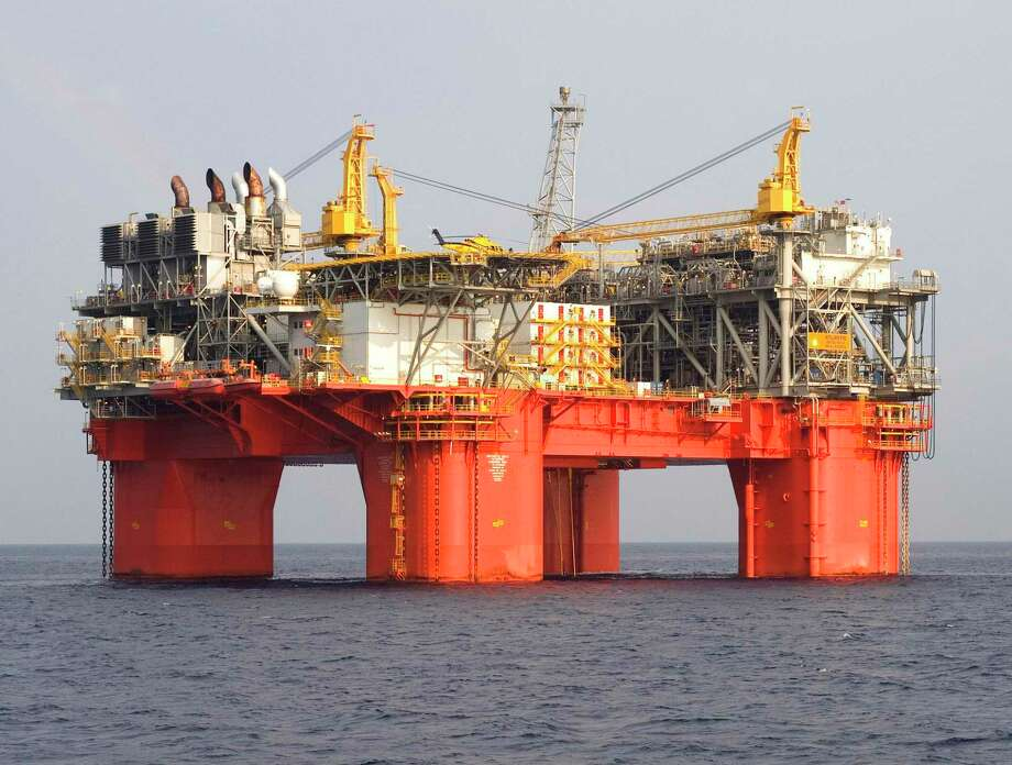 PHOTOS: Reshaping the U.S. oil industryBP Plc's Atlantis oil and gas platform in the Gulf of Mexico. >>Check out the big oil deals since the crash ... Photo: Marc Morrison / ST / BP