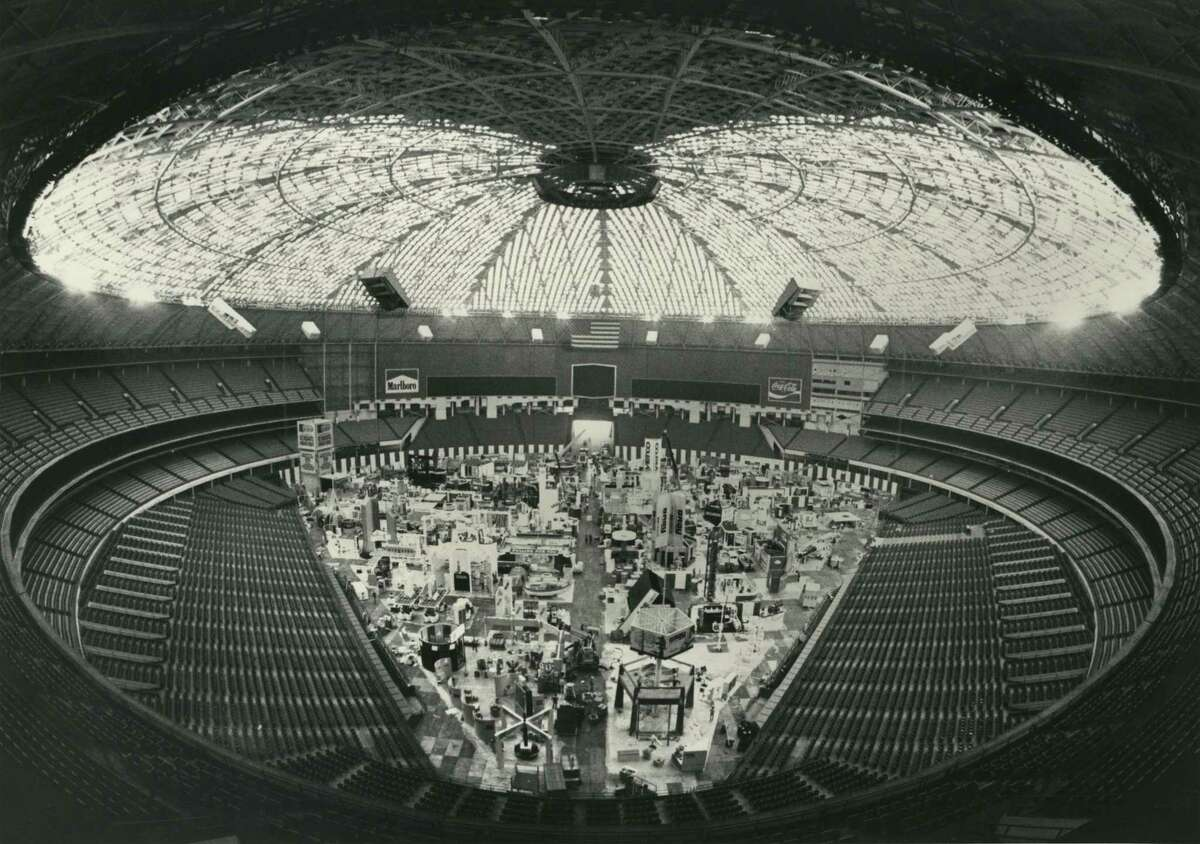 05/02/1980 - Offshore Technology Conference exhibits in the Astrodome