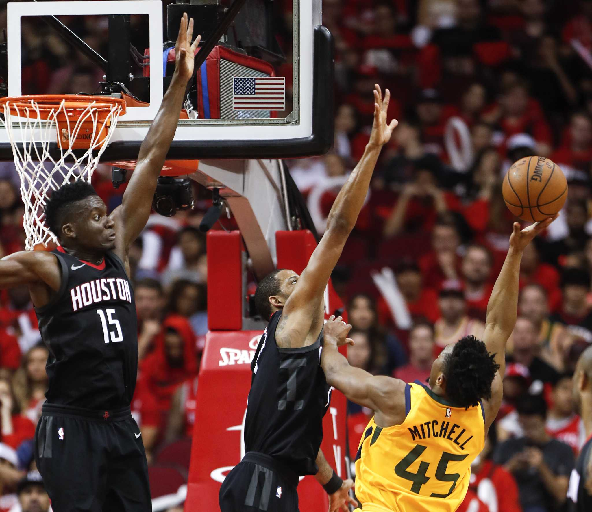Rockets Jazz Game 1: The Defensive Move The Rockets Made To Stop Donovan