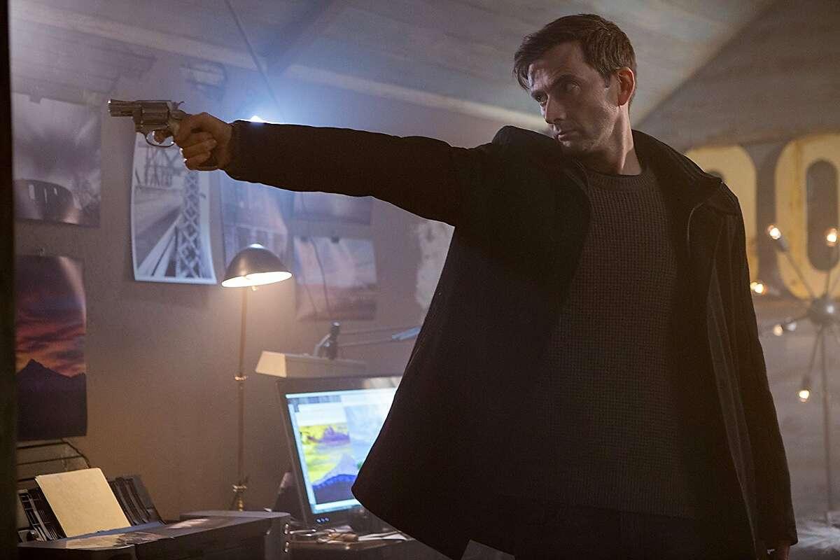 "David Tennant in Dean Devlin's ""Bad Samaritan"" (2018)."