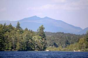 McKenzie Mountain from Lower Saranac Lake. (Mark Kurtz)
