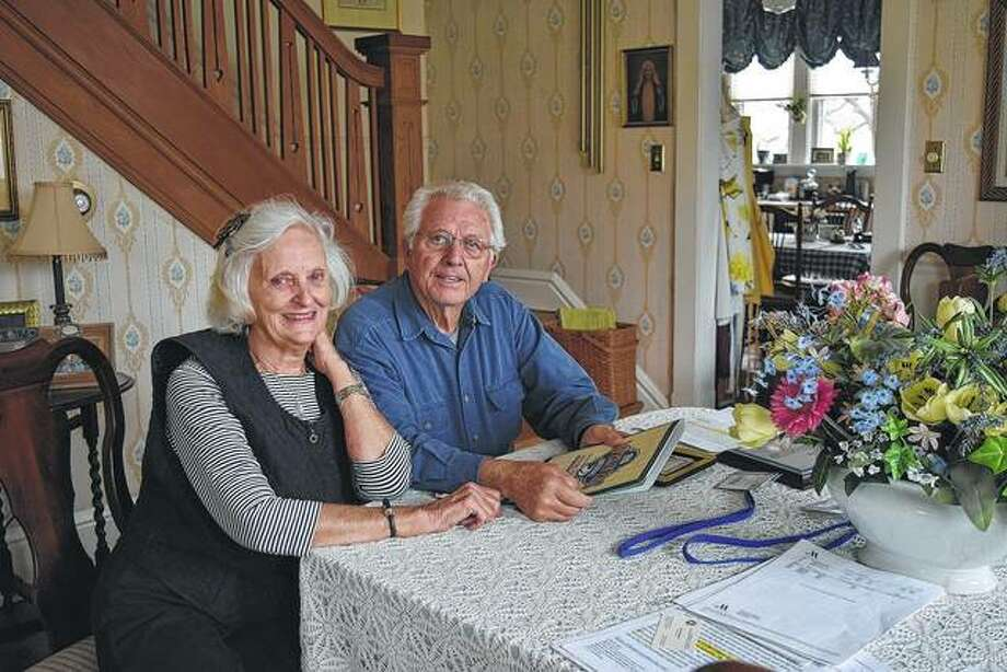 Marilyn and George Murphy has been long-time fixtures in the fight against drunken driving in west-central Illinois. Photo:       Audrey Clayton | For The Telegraph