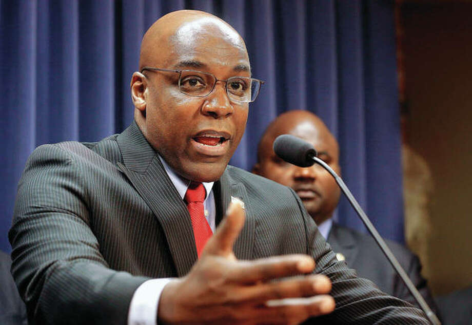 Lawmakers and police still can't agree on the results of an Illinois racial profiling measure first pushed by then-state Sen. Barack Obama. The discussion comes as Democrats now push to make the temporary program permanent. State Sen. Kwame Raoul, D-Chicago, is the sponsor of the plan. Photo:       Seth Perlman | AP