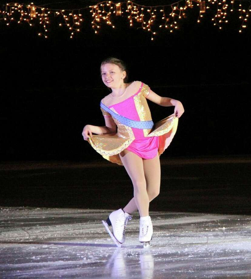 Ciarra Franklin, 12, of Midland, skates to 'Learn to Do It' from Anastasia. (Courtesy photo)