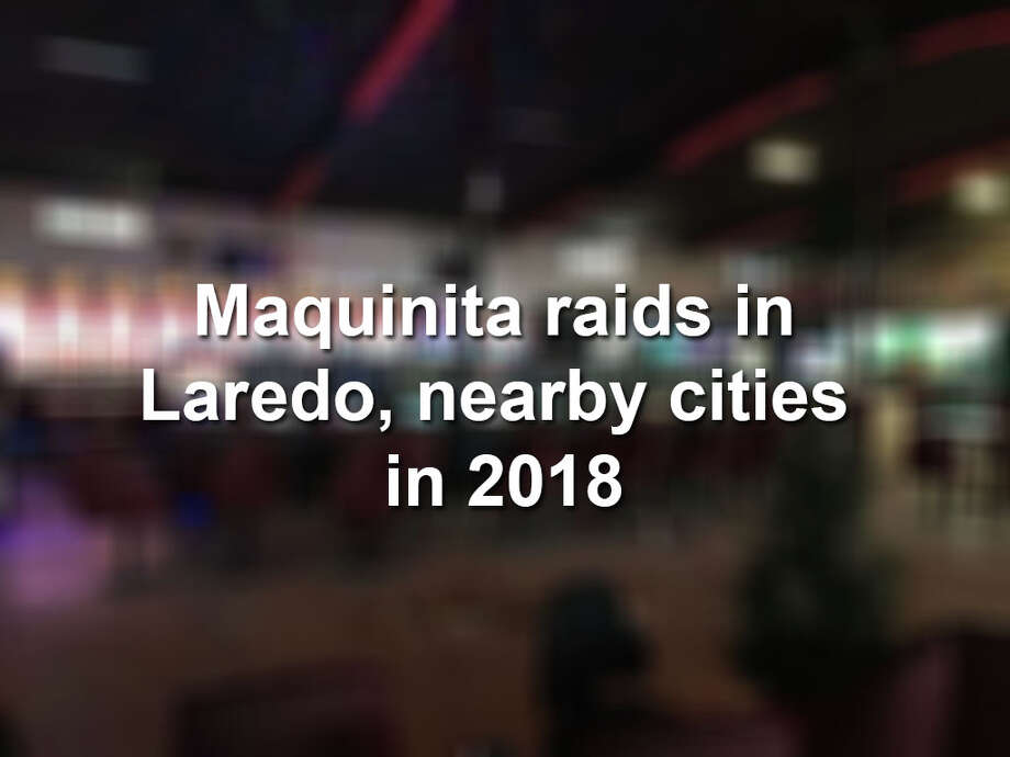 Click through the gallery to see scenes from maquinita raids in Laredo and nearby cities this year. Photo: Laredo Morning Times