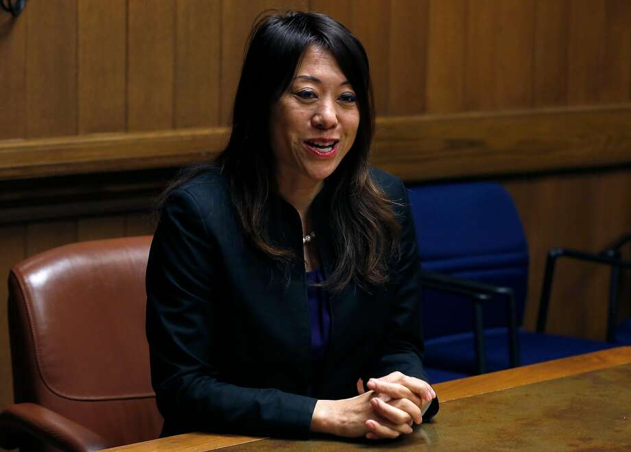 Candidate for state treasurer Fiona Ma meets with the Chronicle Editorial Board. Photo: Paul Chinn, The Chronicle