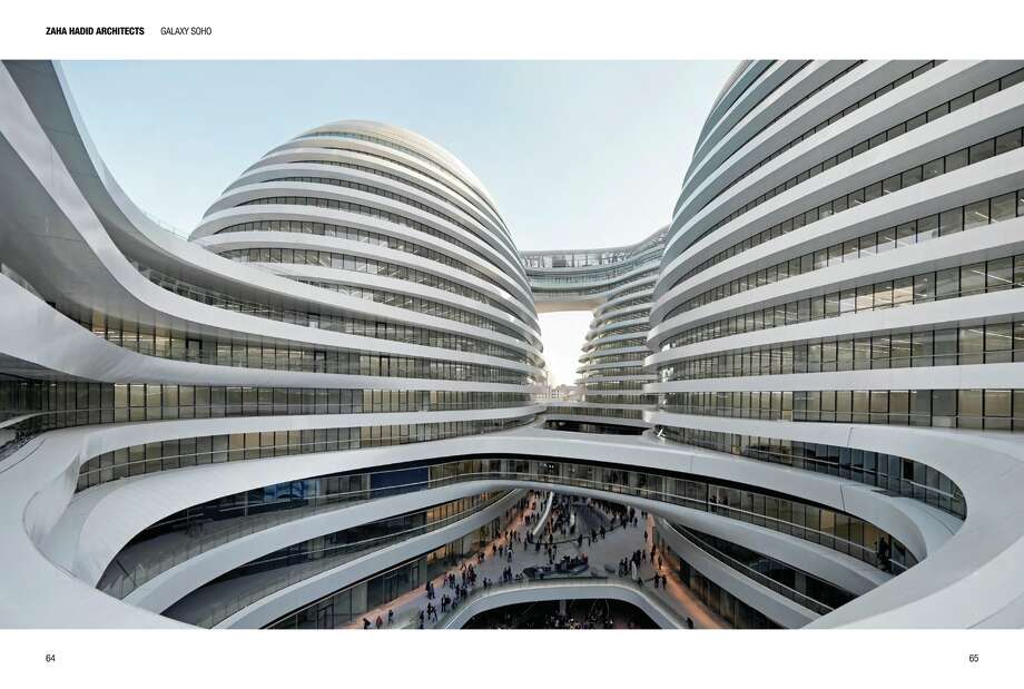 Galaxy Soho, an office, retail and entertainment complex, was designed by Zaha Hadid Architects and opened in Beijing in 2012. Photo: Images Publishing