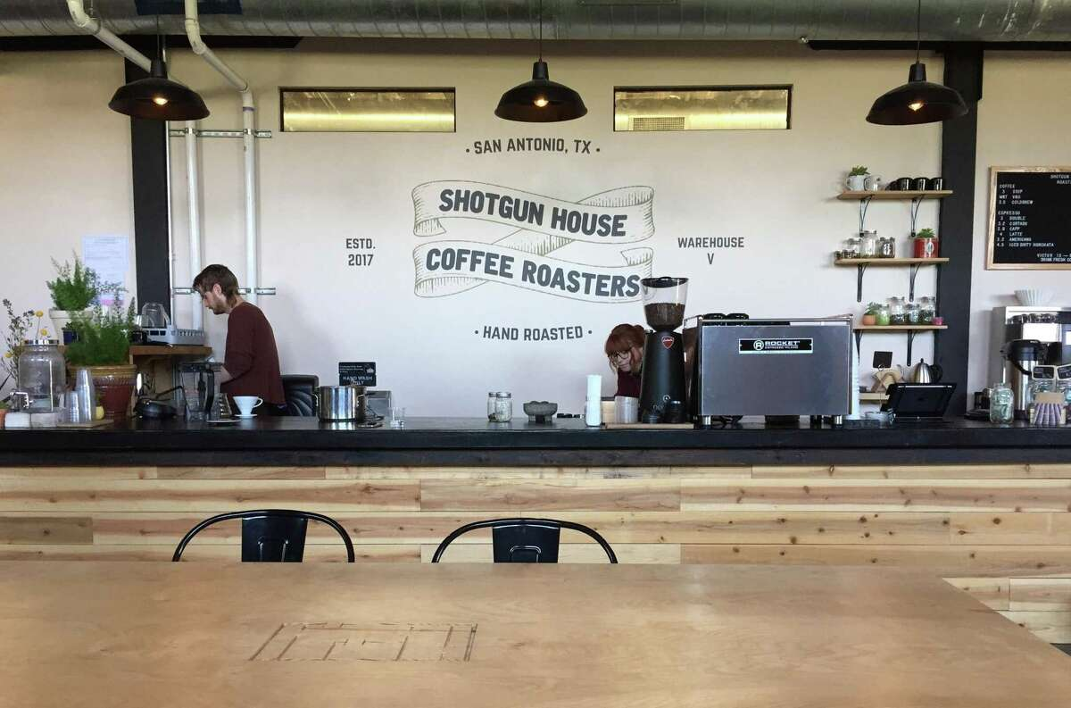 Shotgun House Coffee Roasters is located at 1333 Buena Vista St.