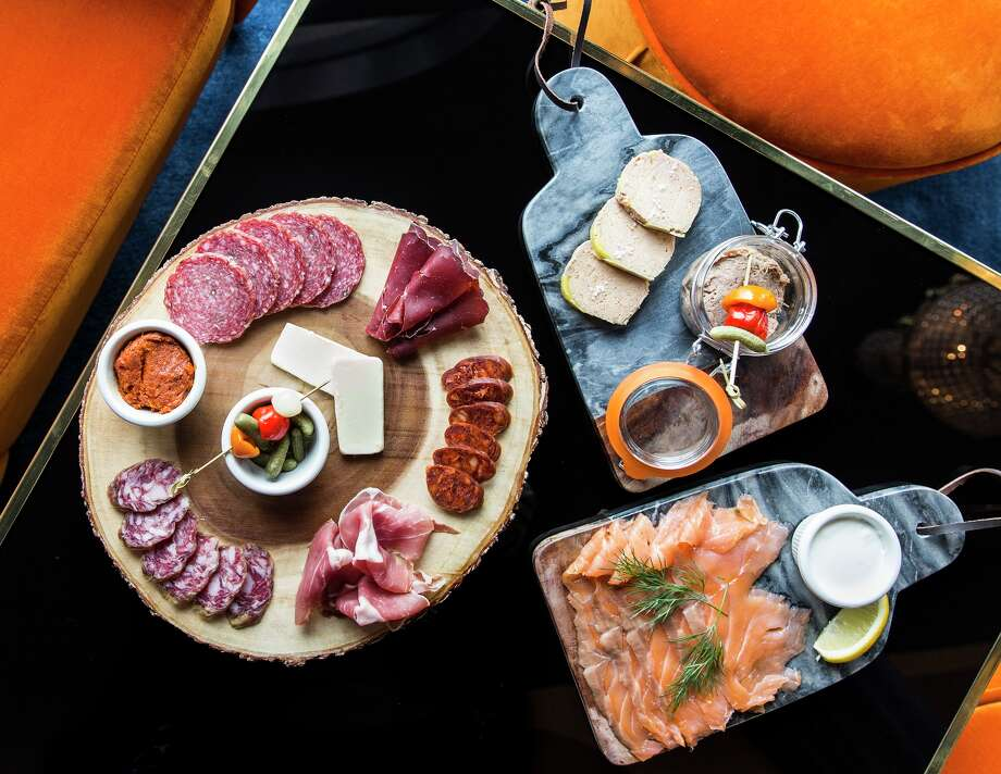 Victor will offer food such as country pate, duck pate, smoke salmon, melted Camembert, and meat and cheese boards. Victor is a new French-themed bar/lounge opening in the former Zimm's Bar sapce at 4321 Montrose. Photo: Julie Soefer