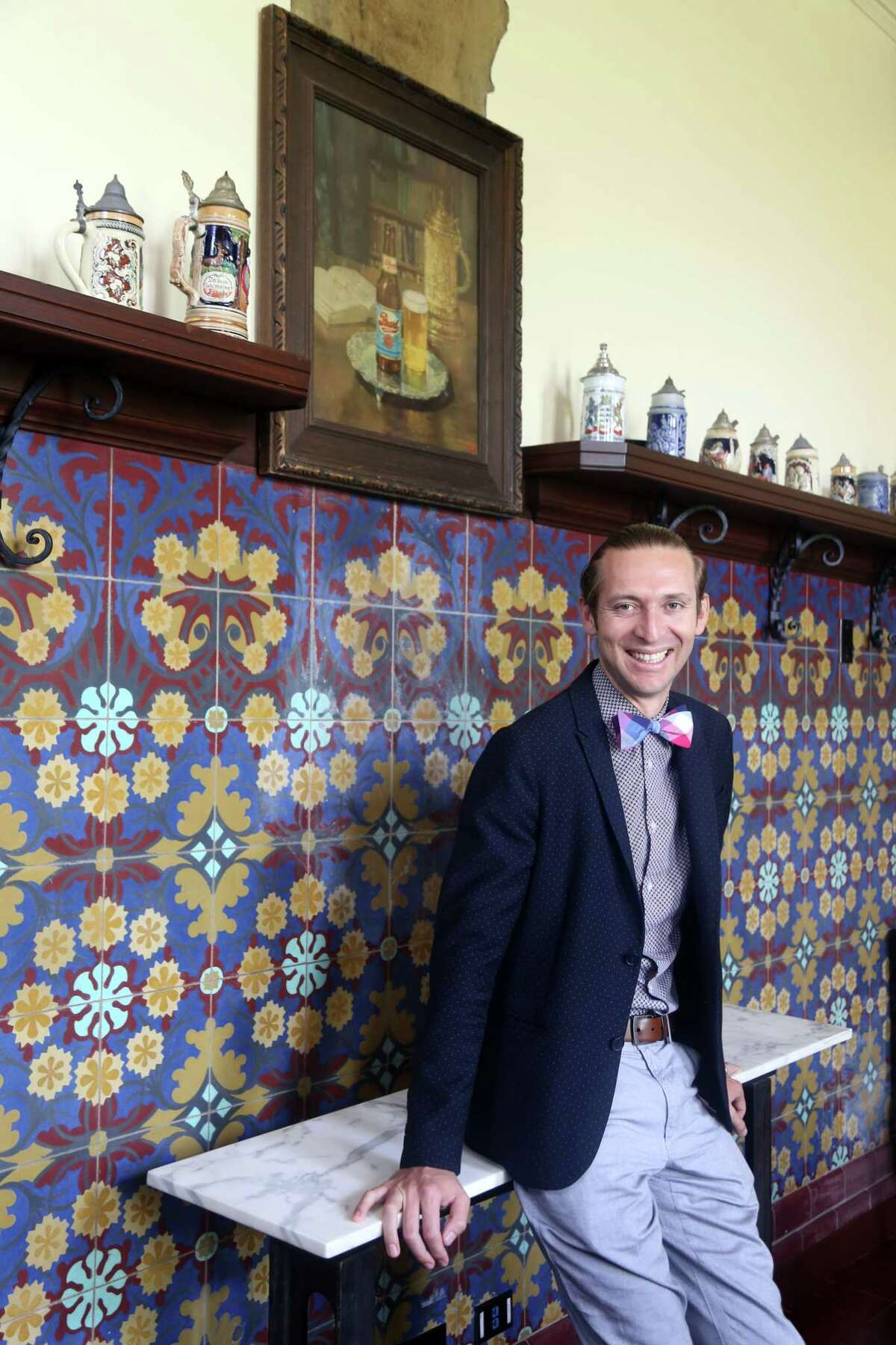 Andres Rizo is the culinary concierge at the Hotel Emma in San Antonio.