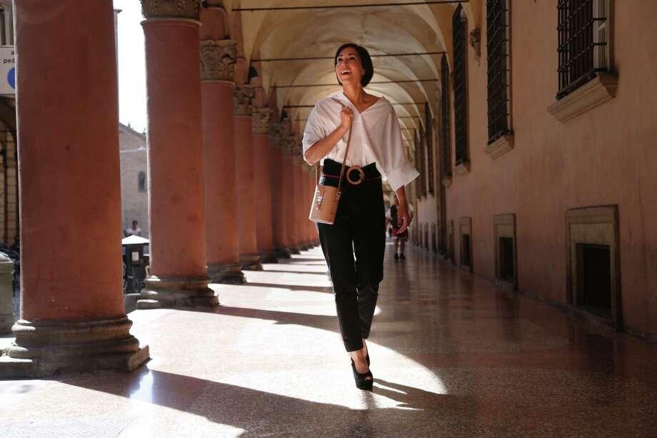 Allison Hoeltzel Savini,founder of leather goods company Officina del Poggio Photo: Officina Del Poggio