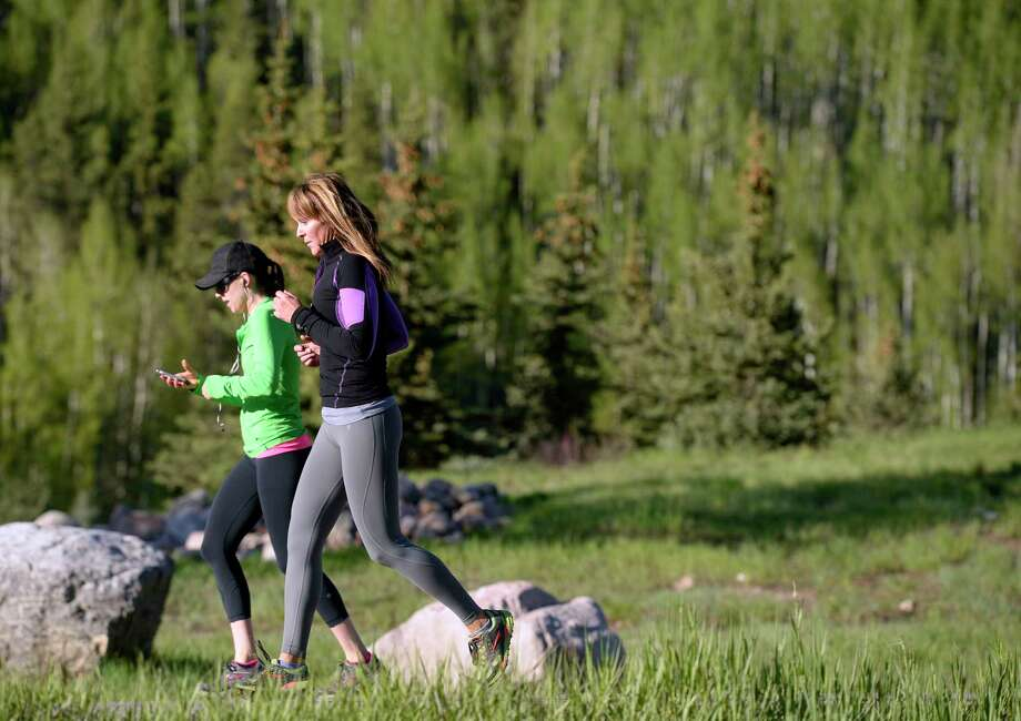 A morning outdoor cardio class in Vail, Colo. Photo: Cyrus McCrimmon, Contributor / Copyright - 2015 The Denver Post, MediaNews Group.