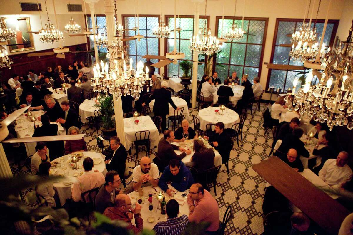 Main dining room at Arnaud's, 813 Bienville in New Orleans, which is marking its 100th anniversary in 2018.