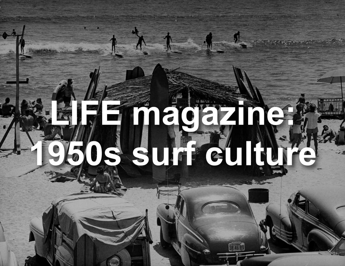 LIFE magazine explores surf culture in Southern California in the 1950s.