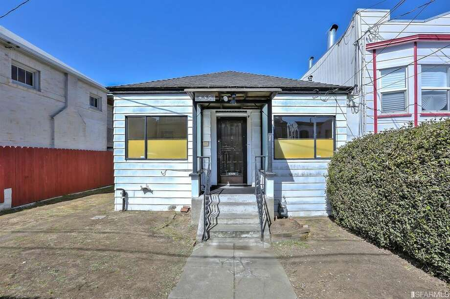 A circa 1900 home in San Francisco's Merced Heights at 459 Ralston St. is listed for $649,000. Photo: F8 Real Estate Media