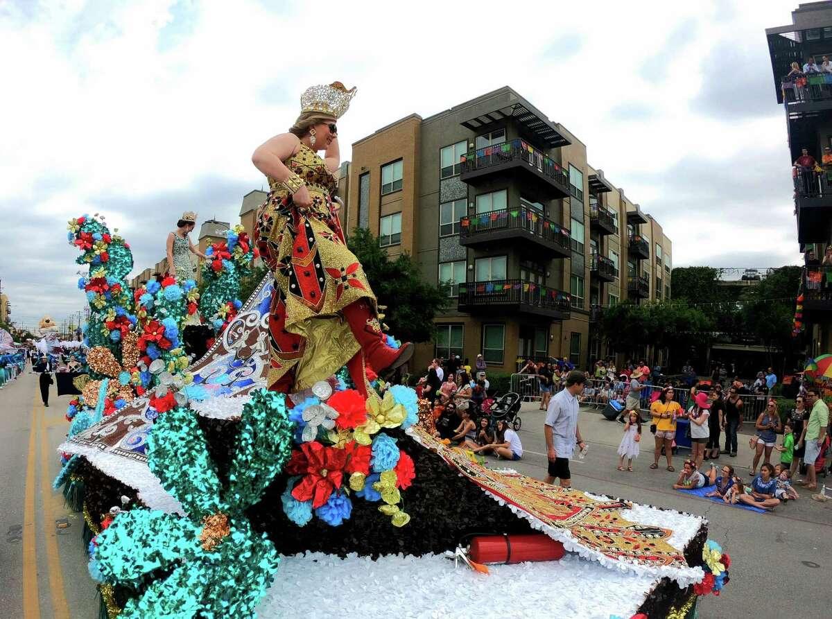 1. Take part in Fiesta: @nvcsatx83: Attend FIESTA events, @matt_magnoliarealty: NIOSA-get beer spilled on you.