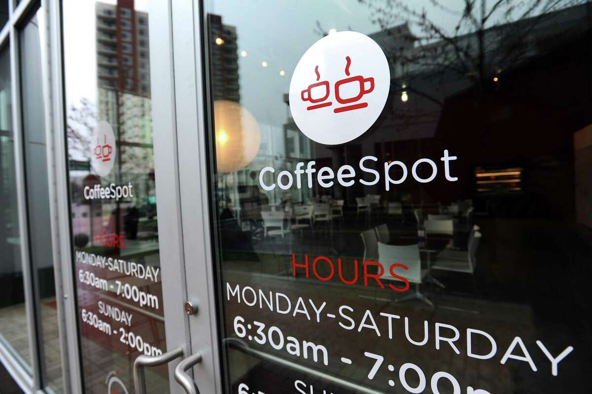 Coffee Spot opened April 16, 2018, at 24 Harbor Point Road, in the South End section of Stamford, Conn.