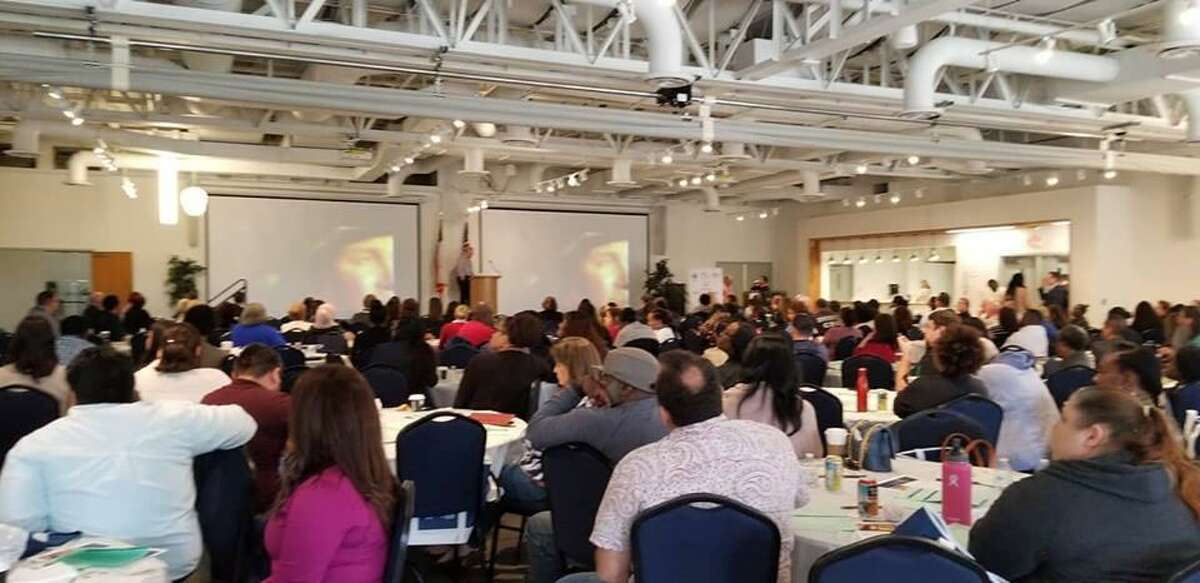 More than 300 people attended the April 20 Fort Bend Drug Symposium sponsored by The Fort Bend Community Prevention Coalition at the Missouri City Community Center.