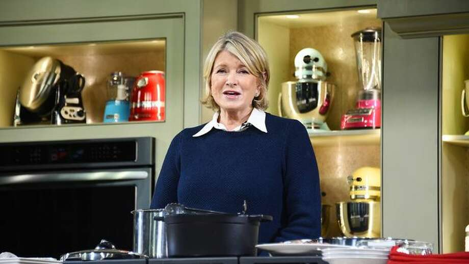Martha Stewart could get a full pardon, Trump told reporters aboard Air Force One was he headed to Texas for GOP fundraisers. Stewart was convicted in 2004 of obstructing justice and laying to the government when she unloaded stock just before the price plummeted. Photo: Larry Busacca/Getty Images