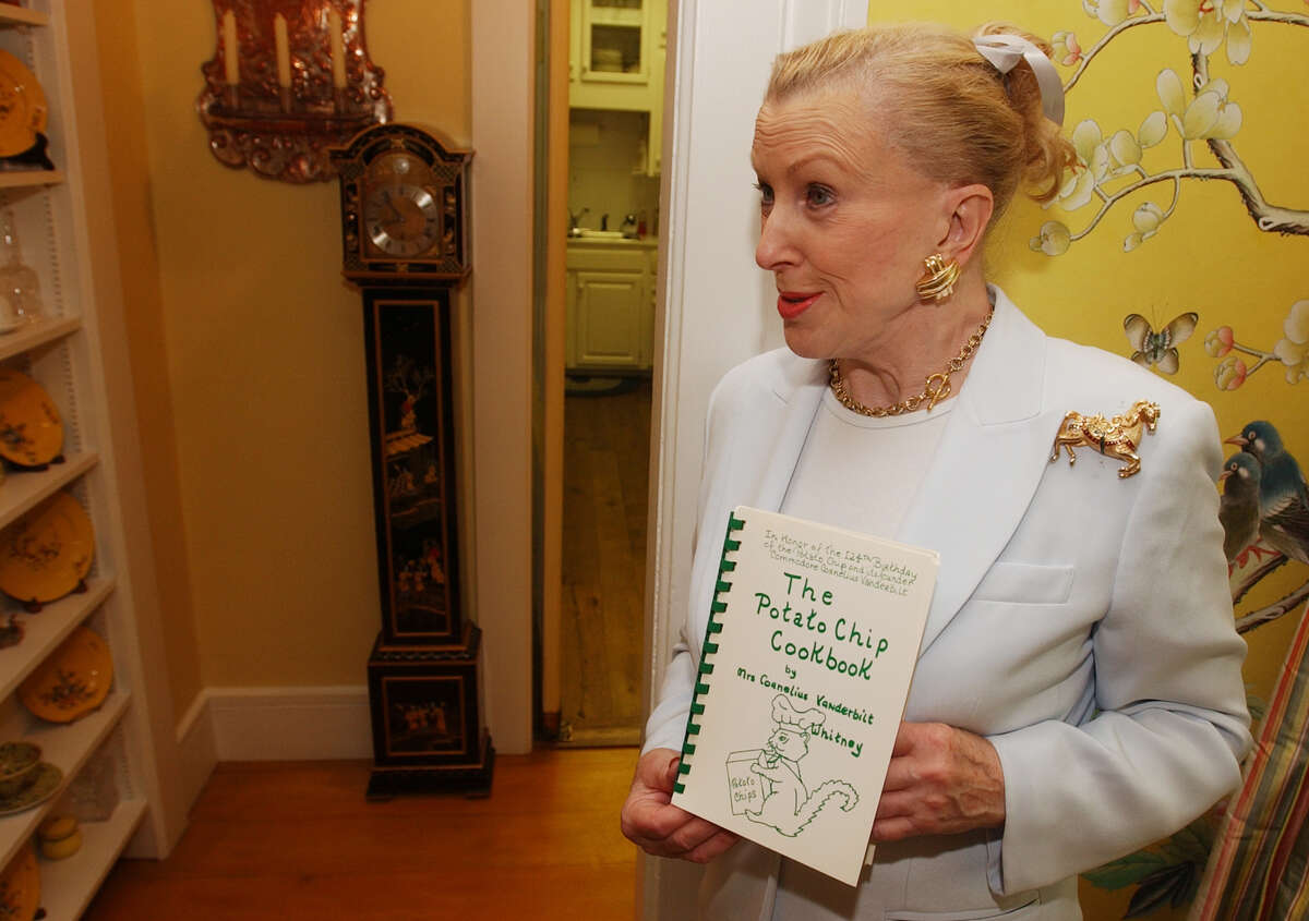 Click through the slideshow to see the homes of the rich and famous around the Capital Region MaryLou Whitney with her potato chip cookbook at her home, Cady Hill, in Saratoga Springs on July 2, 2003. (Times Union Staff Photo by Skip Dickstein)