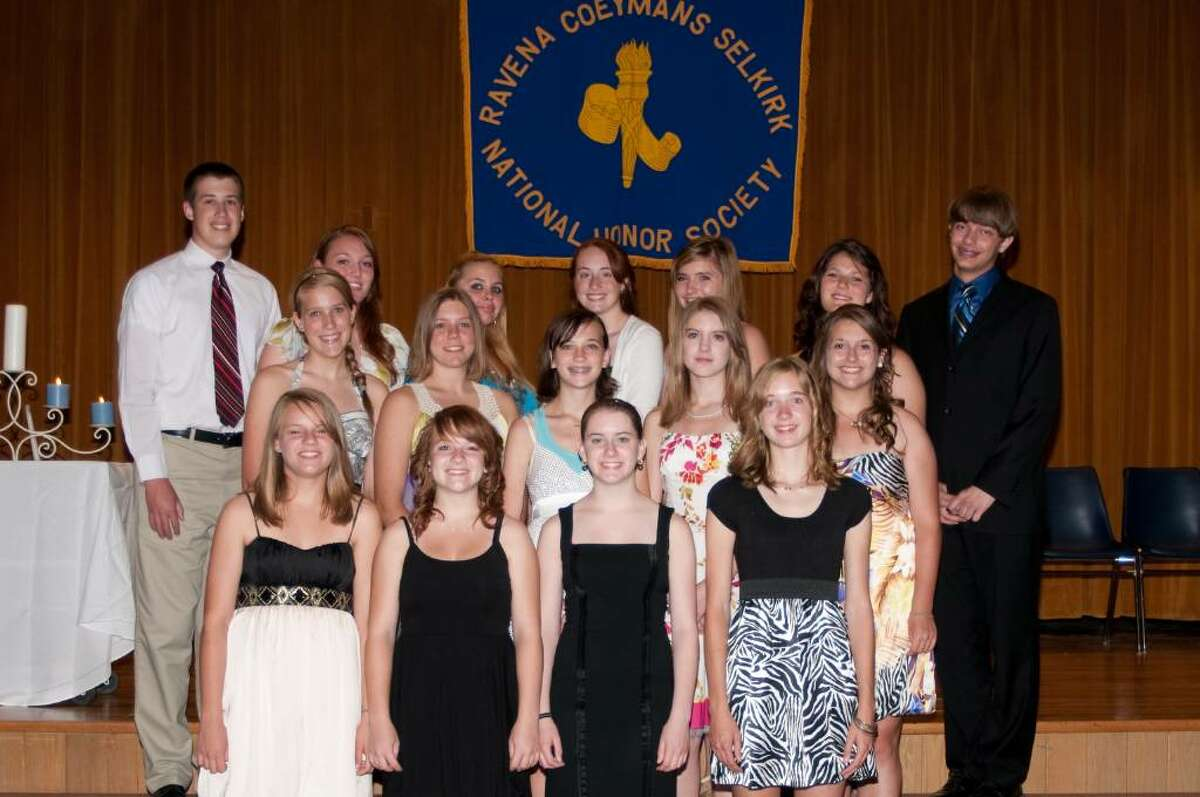 The recent inductees of the RCS Honor Society. (Photo provided by RCS schools)