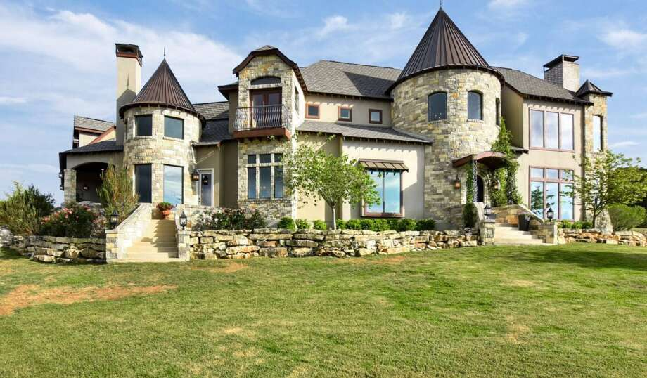 "The ""Castle on a Hill"" in Boerne is on the market with an asking price of $1.35 million. Photo: Courtesy Kuper Sotheby's International Realty"