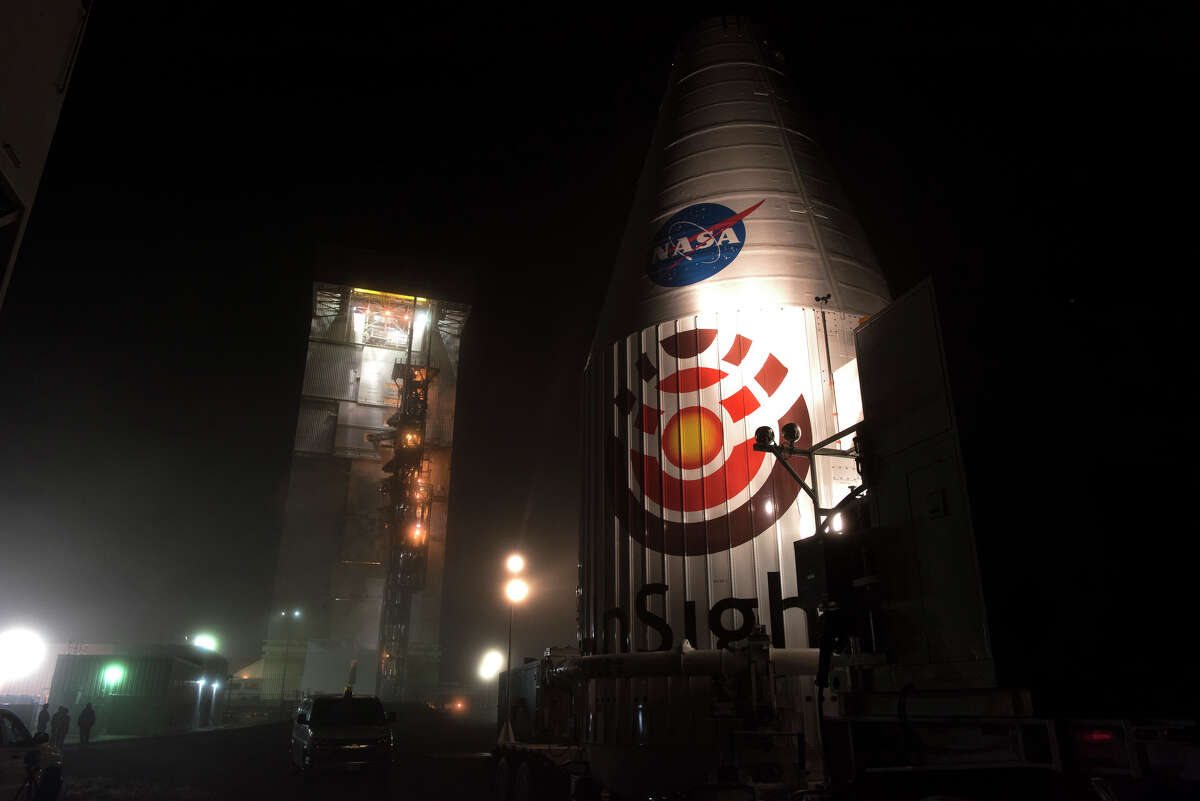 On May 5th, at 4:05 a.m. PDT, an Atlas V rocket carrying NASA's InSight lander is sett to blast of from Vandenberg Air Force Base in Santa Barbara County.
