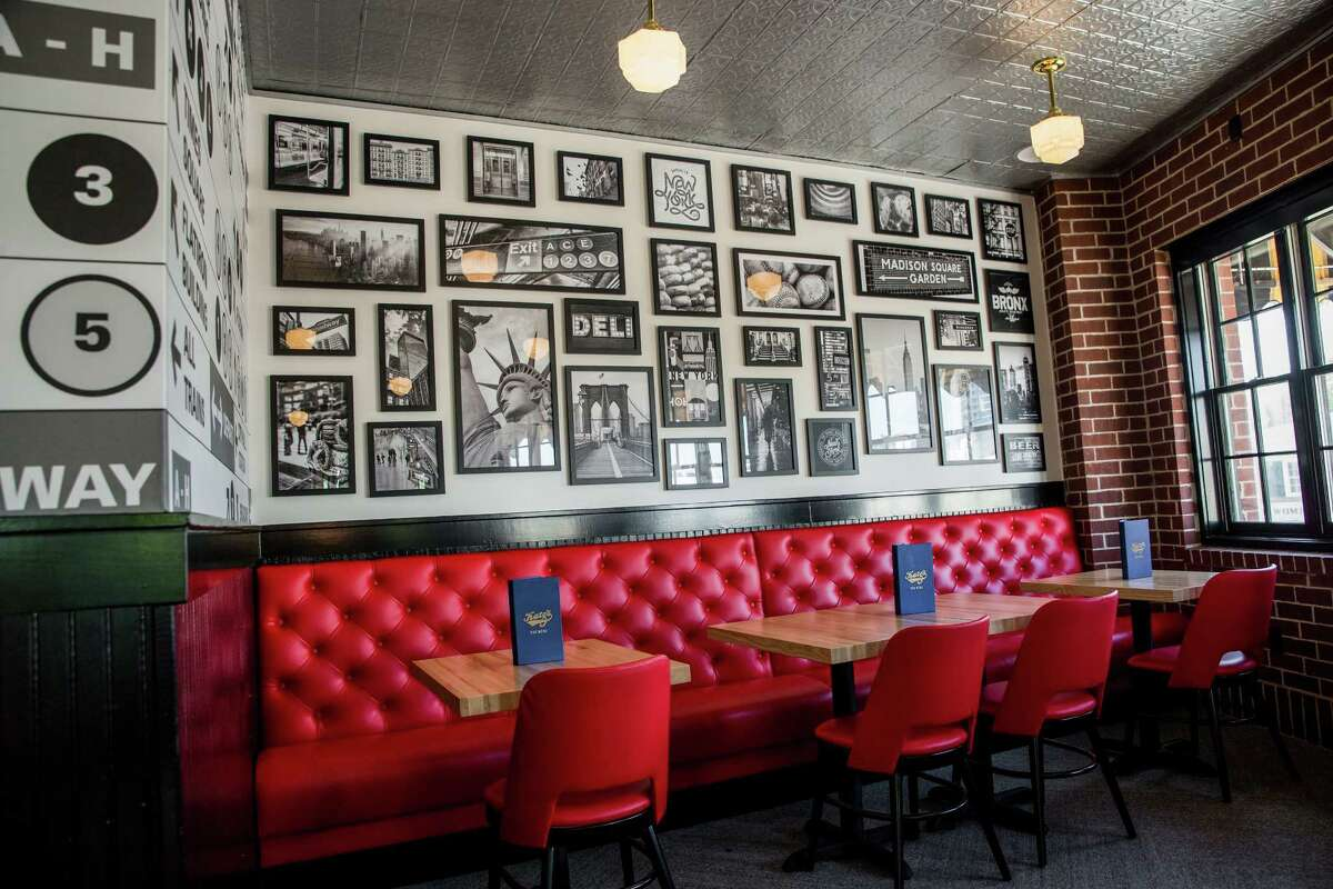Architect Michael Hsu of Austin redesigned the interior of Katz's deli on Westheimer which is marking its 20th anniversary this year.