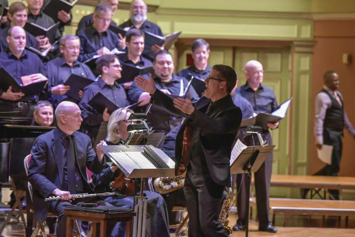 """Albany Pro Musica: """"The Many Moods of Christmas,"""" Troy Savings Bank Music Hall, Second Street, Troy."""