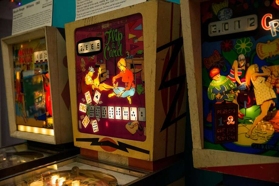 The Pacific Pinball Museum in Alameda will have a pinball tournament with local beers during 2020 Beer Week. Photo: Laura Morton / Special To The Chronicle