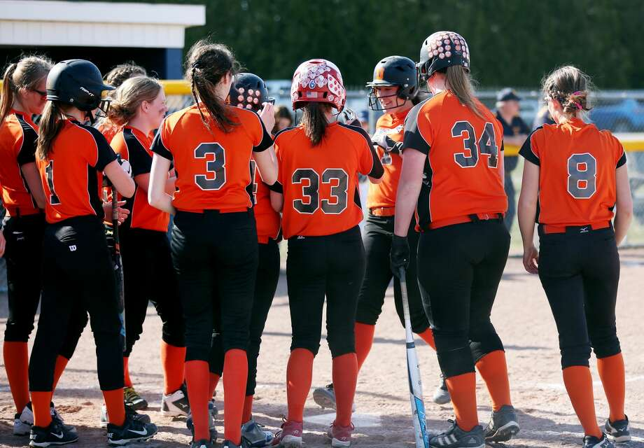 Ubly at Bad Axe — Baseball/Softball 2018 Photo: Paul P. Adams/Huron Daily Tribune