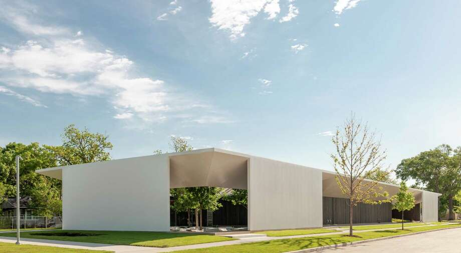 The Menil Drawing Institute, designed by Johnston Marklee, as it appears from West Main Street. The first freestanding facility built for the acquisition, exhibition, study, conservation and storage of modern and contemporary drawings will open to the public on November 3, 2018. Photo: Paul Hester