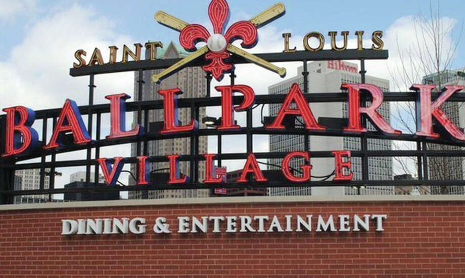 Ballpark Village, an entertainment venue next to Busch Stadium in St. Louis, opened in March 2014. An Spanish Lake man was shot and killed there during a private event Sunday night. Photo:       File Photo