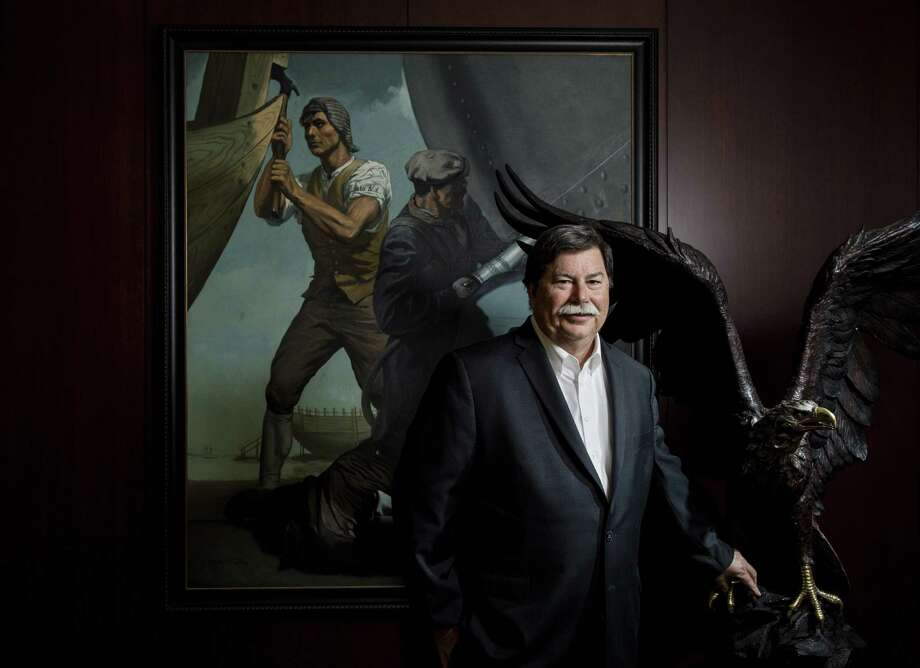 Ken Richardson, executive vice president of Global Offshore at ABS, poses for a portrait at the company's offices, Tuesday, April 24, 2018, in Houston.  ( Jon Shapley / Houston Chronicle ) Photo: Jon Shapley, Houston Chronicle / Houston Chronicle / © 2018 Houston Chronicle