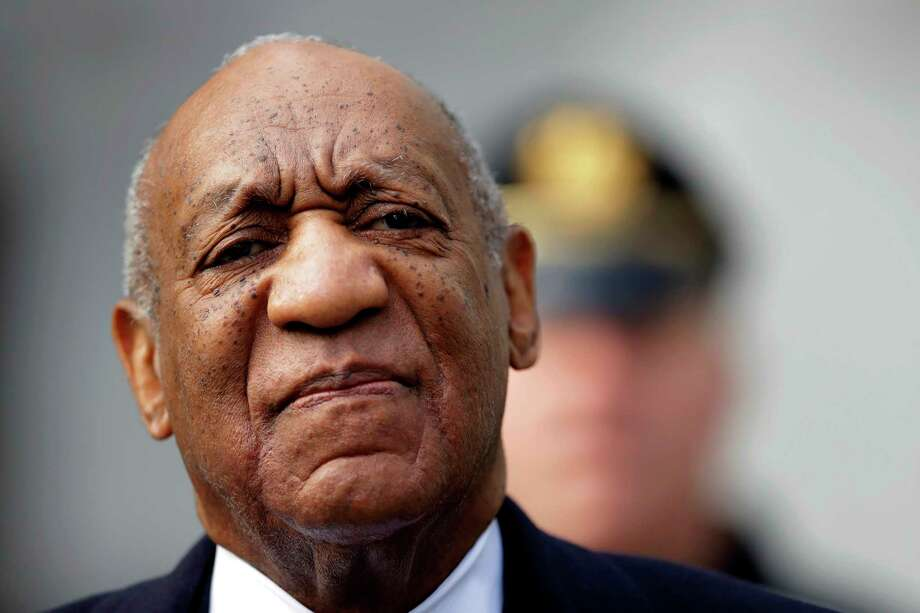 FILE - In this April 18, 2018 file photo, Bill Cosby arrives for his sexual assault trial at the Montgomery County Courthouse in Norristown, Pa. The prosecutors who put Cosby away said Sunday, April 29, 2018, they're confident the conviction at his suburban Philadelphia sexual-assault retrial will stand. (AP Photo/Matt Slocum, File) Photo: Matt Slocum / Copyright 2018 The Associated Press. All rights reserved