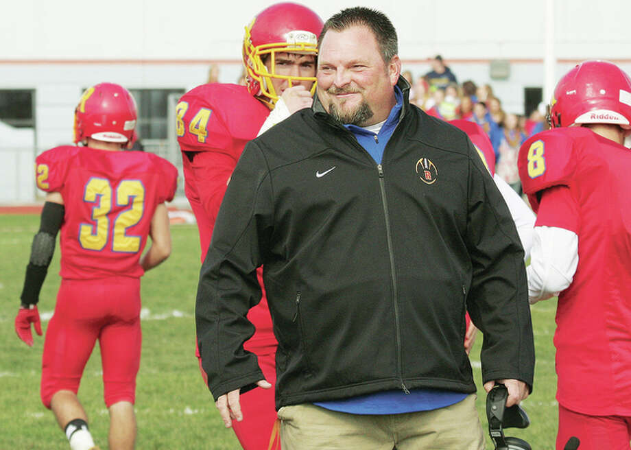 Pat Keith will leave Roxana High School next season to become head football coach at Southwestern High. Keith was head coach of the Shells for nine seasons and guided them to a pair of playoff appearances. Photo:       Telegraph File Photo
