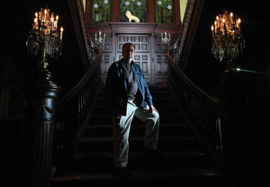 Sam Daleo, the first curator of collections for the McFaddin-Ward House museum is retiring in June after devoting more than 30 years at the historic home. Photo taken Monday, April 30, 2018 Guiseppe Barranco/The Enterprise Photo: Guiseppe Barranco, Photo Editor / Guiseppe Barranco ©