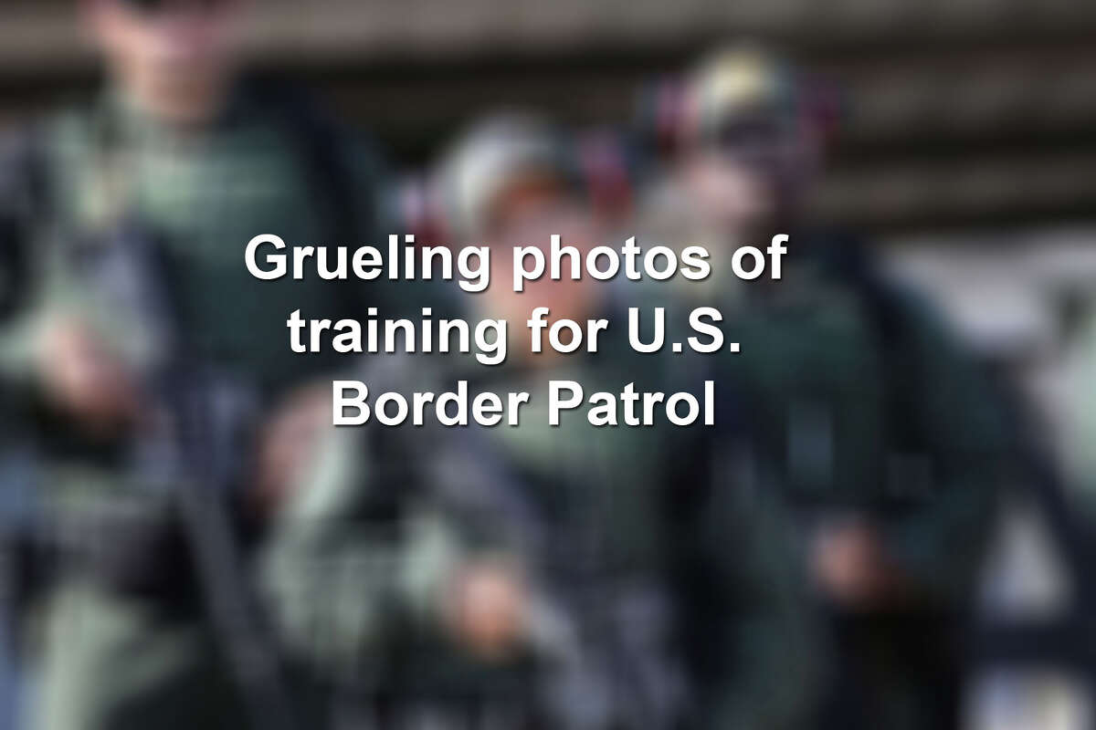 Keep scrolling to see more photos of how U.S. Border Patrol trainees are prepared to man the border.