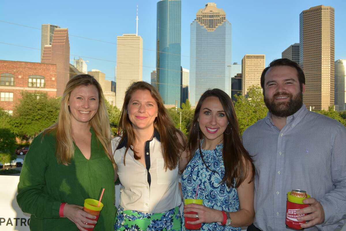 Roughly 300 people attended Buffalo Bayou in Bloom at The Water Works in Buffalo Bayou Park Thursday.