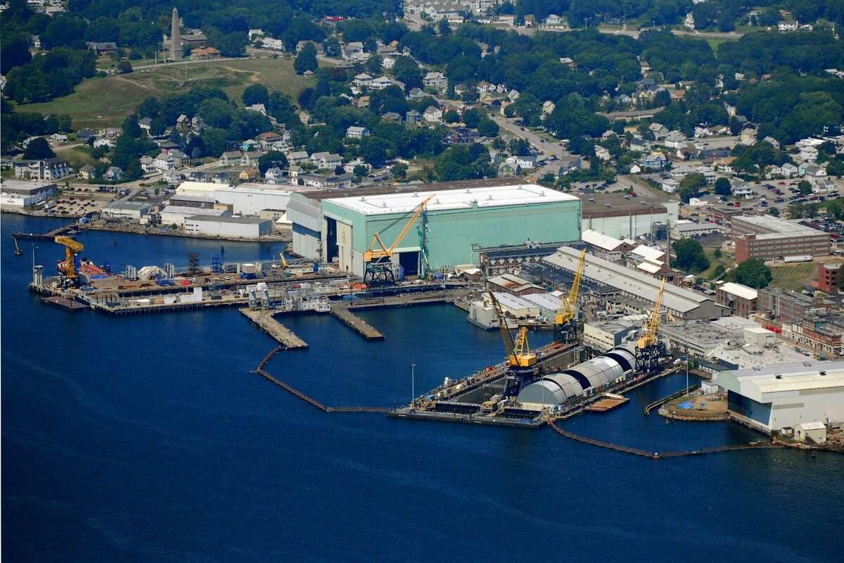 The General Dynamics Electric Boat plant in Groton, Conn.